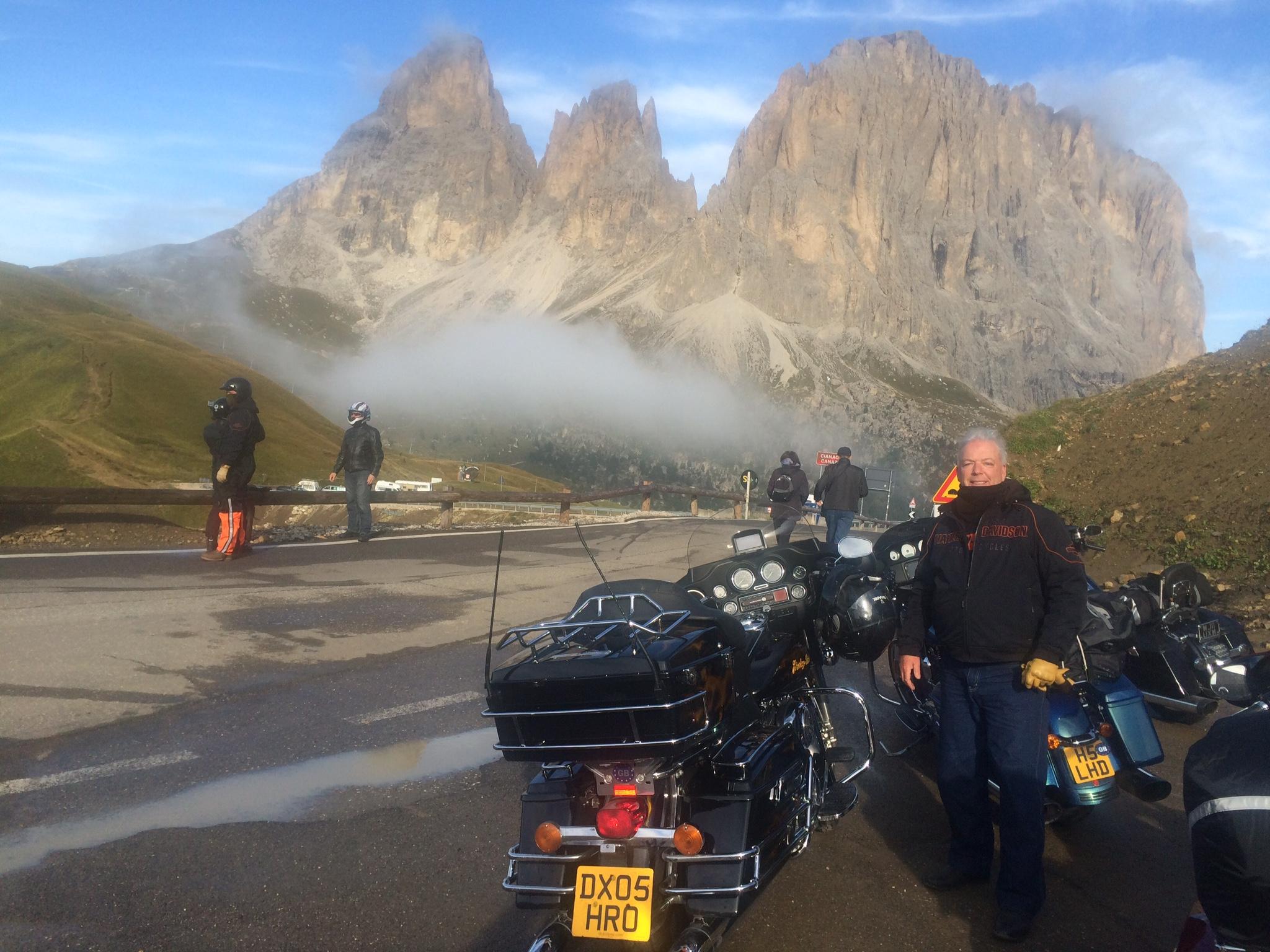 Biking The Alps